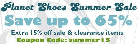 Submit your Planet Shoes coupon code because it helps other users save money