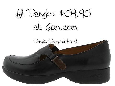 Nursing Shoes - Dansko Black Cabrio Professional Clog