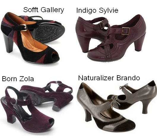 Comfortable Women's Shoes | Comfortable Pumps for Fall 2009