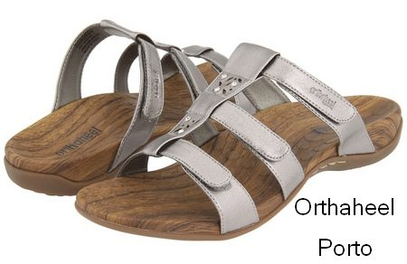 Five Stylish Sandals For Plantar Fasciitis And One Clog