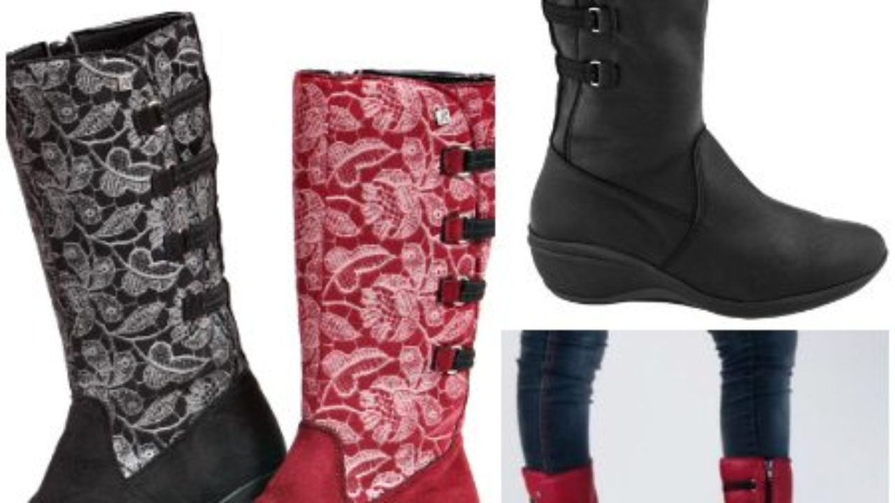 New Wedge Boots by Arcopedico   The