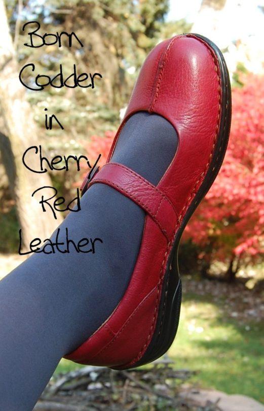 Shoe I M Lovin Born Codder Mary Jane In Cherry Red