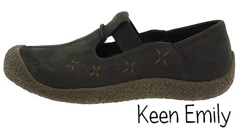 Keen Emily: Removable metatomical footbed would probably accommodate
