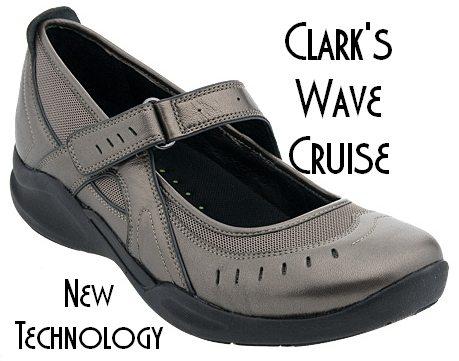 Clarks Shoes Wave Walker Womens