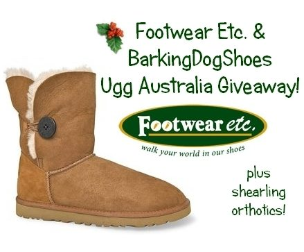 ugg giveaway footwear etc ugg boots aetrex shearling orthotics giveaway 710