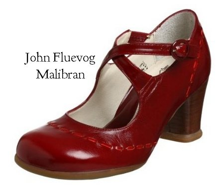A Statement Shoe For Sure The Malibran Is One Of Fluevog S Most Comfortable Heels To Date Favorite Features Vintage Meets Mod Style Square Toe Box