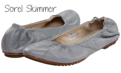 Crocs women's linashinyflat ballet flats oyster/black 6 m us white oyster/black  shoes ...