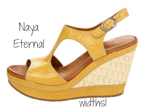 5 Gorgeous Naya Shoes - Sandals for Narrow to Wide Feet