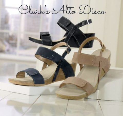 sandals for bunions : clark's wedge sandals