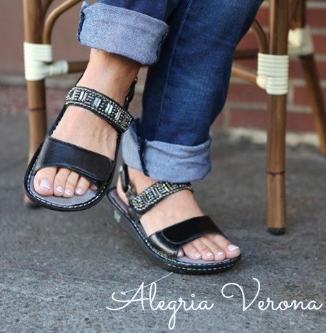 Sandals For Bunions Alegria Verona