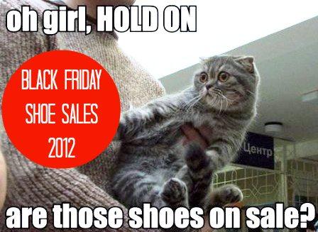 Black Friday Shoe Deals 2012