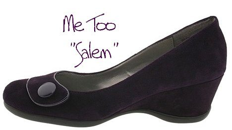 Me Too Salem Wedge Pump: Dress Shoe for Large Feet