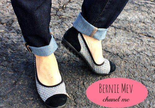 Bernie Mev Chanel Me Cap Toe Flat