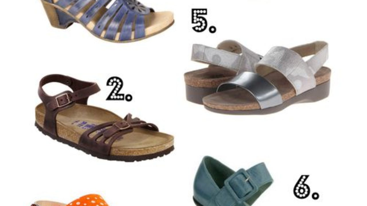 Comfortable Narrow Width Sandals with