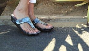 Barking Dog Silver Sandals