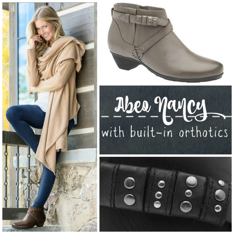 Abeo Nancy | Bootie with Built-In Orthotic