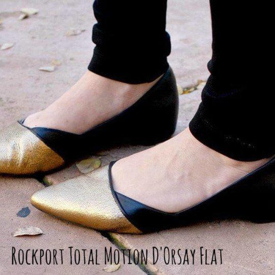 rockport dorsay flat