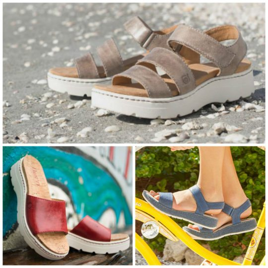Born Sandals for Hallux Limitus