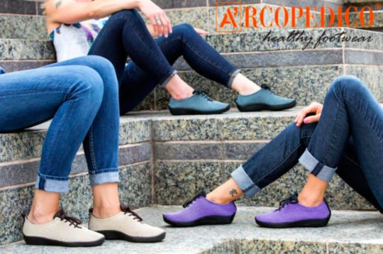 Shoes for Bunions : Arcopedico LS