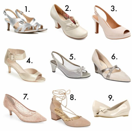 Elegant and Comfortable Wedding Shoes