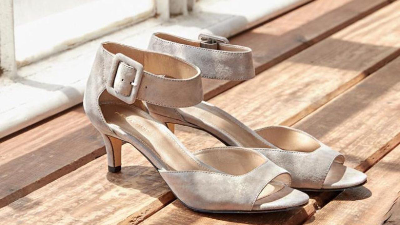 5 Stylish yet Comfortable Wedding Shoes and Sandals