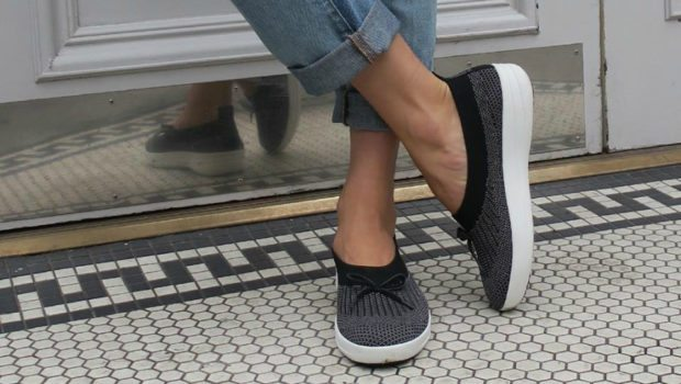 Fitflop Ballet Flats Amp High Top Sneakers In Awesome Uberknit