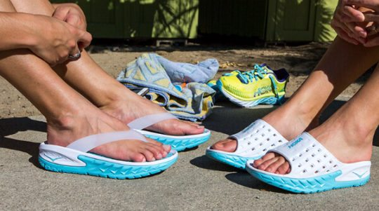 Water Shoes for Women: Hoka One One Ora Recovery Sandal
