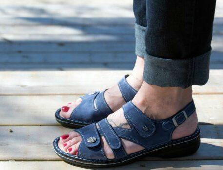 Orthotic sandals - finn comfort gomera