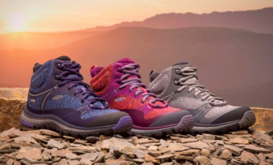 Camp Shoes: Keen Terradora Mid Boot