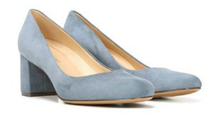 Comfortable low-heeled special occasion shoes