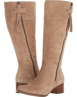 Wide Calf Boots : Naturalizer Demi