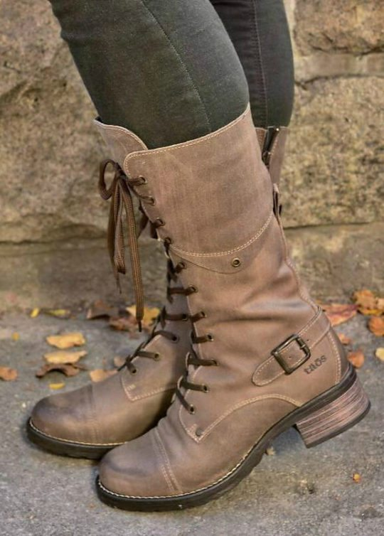 Narrow Calf Boots : Taos Tall Crave