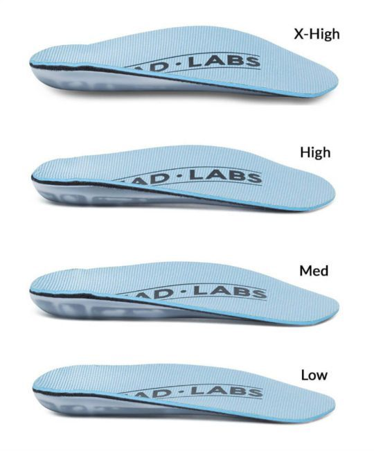 Tread Labs Stride Short Insoles: Add Support to Dress Casual Shoes