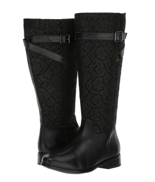 Wide Calf Boots : Trotters Lyra Wide Calf