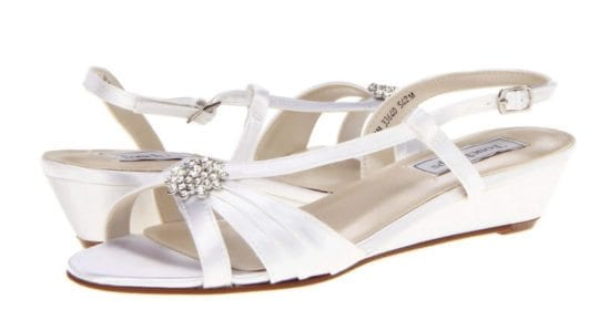 Comfortable Wedding Shoes : Touch Ups Geri