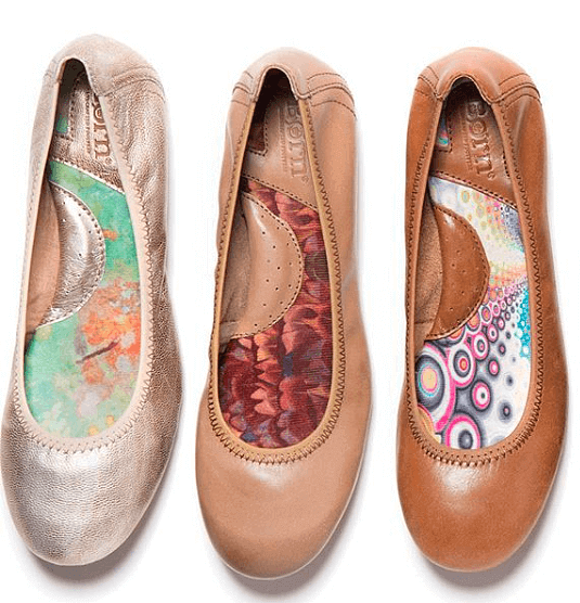 Comfortable Ballet Flats: Born Julianne