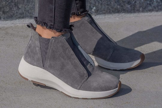 Comfortable Wedge Sneakers _ OTBT Bethel