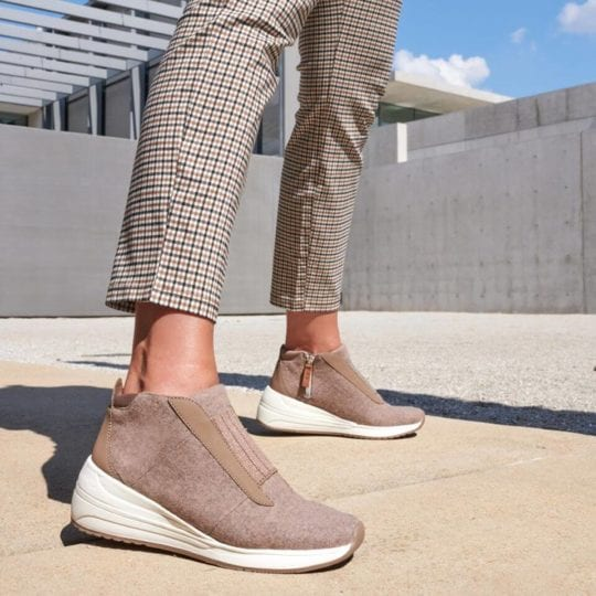 Comfortable Wedge Sneakers