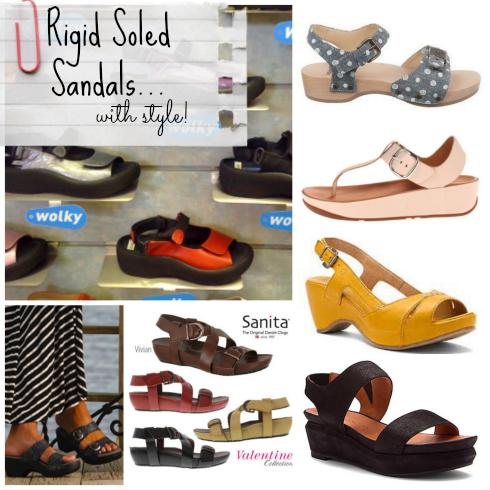 Rigid Sole Sandals 2